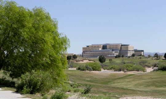The new, yet-to-open William Beaumont Army Medical Center is next to the El Paso International Airport's Butterfield Trail Golf Course, scheduled to close May 31 to save the city-run airport money.