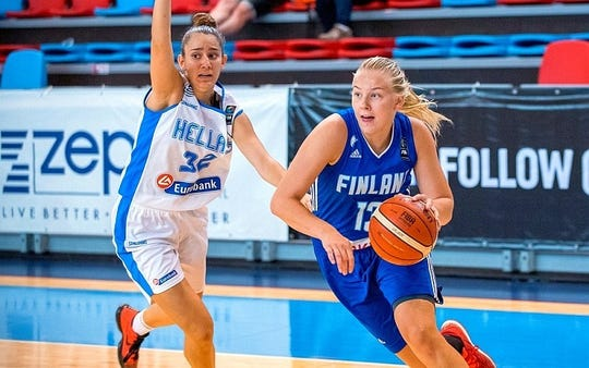 Elina Arike, a 6-foot forward from Finland, has signed with the UTEP women's basketball team