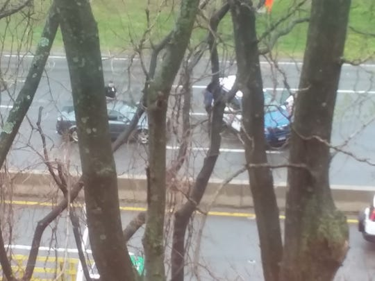 A wrong-way driver on the Bronx River Parkway was arrested and charged with DWI.