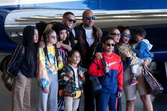"""The cast of Netflix's """"#BlackAF."""""""
