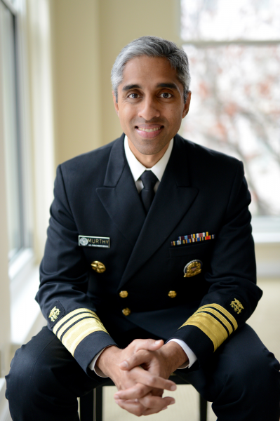 US surgeon general teams up with Hinge to give dating advice during the COVID-19 pandemic