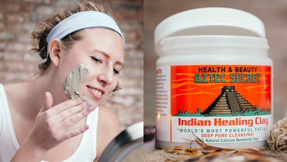 Leave your skin feeling squeaky clean with the Aztec Secret Indian Healing Clay.