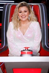 """Kelly Clarkson is a judge on NBC's """"The Voice."""""""