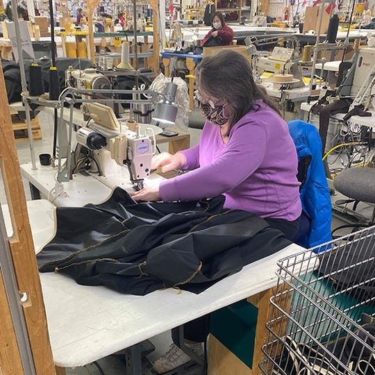 Jacquart's Fabric Product, home of Stormy Kromer, is producing 6,000 medical gowns for the Bronson Healthcare system.