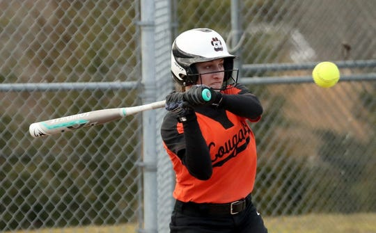 Central Kitsap softball player Faith Schenk earned All-South Sound Conference first-team honors as a junior.