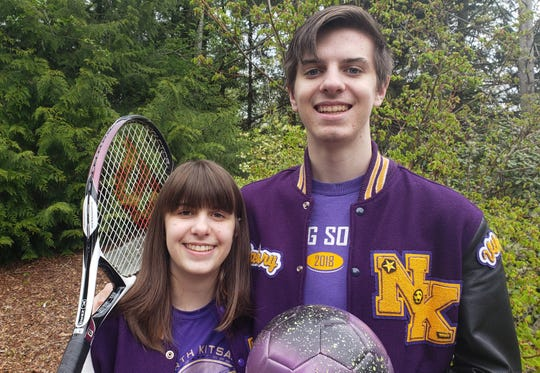 North Kitsap's Grace and Zach Coleman are headed to Boise State University after graduation. Both are missing their senior sports seasons due to COVID-19. Grace plays tennis and Zach plays soccer.
