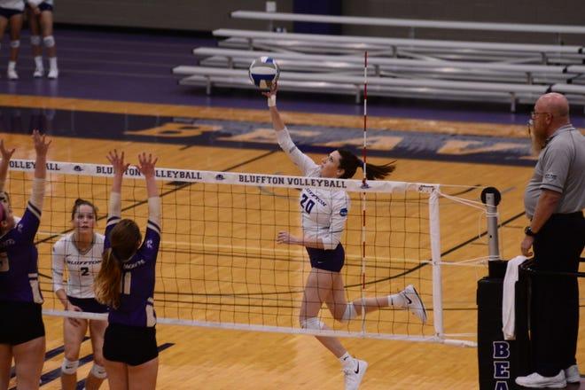 Sarah Heydinger has spent the last three seasons with the Bluffton volleyball program.
