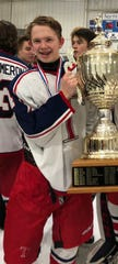 Talawanda's Ben Shrider is The Enquirer's ice hockey player of the year