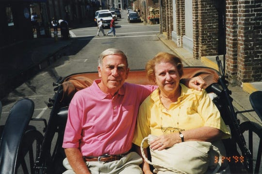 Dave Belew and Marge Belew have been married for 67 years and aren't letting the pandemic stop them from communicating.