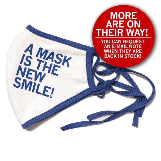 Less than 10 minutes after introducing cotton face masks on the company's website, Raygun sold out. The company has already ordered more masks due to demand.