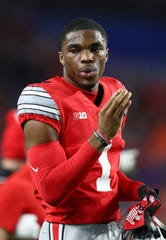 """3. Detroit Lions: CB Jeff Okudah, Ohio State – I'm torn between the Lions taking Okudah and Derrick Brown. In one of his first interviews as coach, at the 2018 combine, Matt Patricia championed building """"from the ball out."""" Brown fits that description better, but Okudah plays the more valuable position in today's NFL. A trade down is possible, but I don't know there's a player worth coming up to get."""