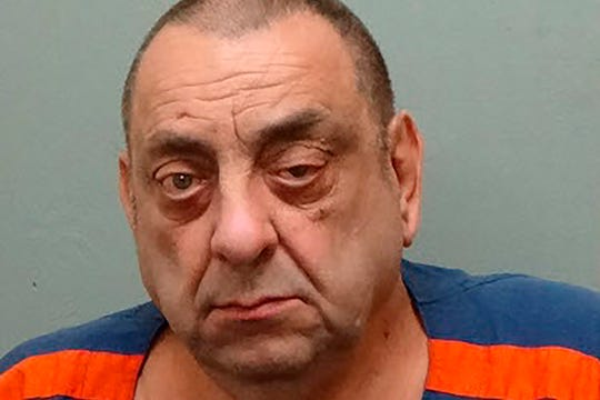 This June 15, 2017, photo provided by the Michigan Department of Corrections shows Richard Palombo, a Michigan prisoner serving a life sentence, who died from COVID-19 complications on Sunday, April 19, 2020, the state Corrections Department said.