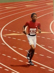 Before he was a star football player at Clemson, Isaiah Simmons was a standout in track and field in Kansas, excelling in the 400 meters and the long jump.