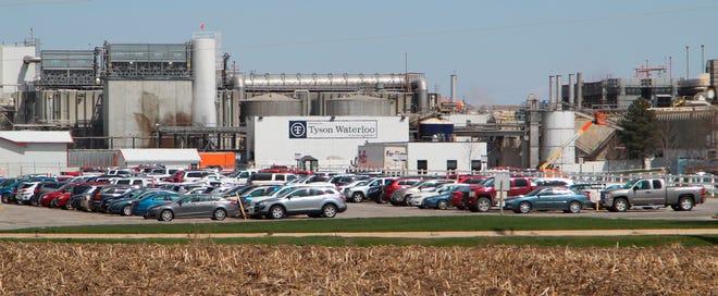 A Tyson Fresh Meats plant in Waterloo, Iowa.
