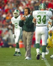 Nick Saban was Michigan State's head football coach from 1995-99.
