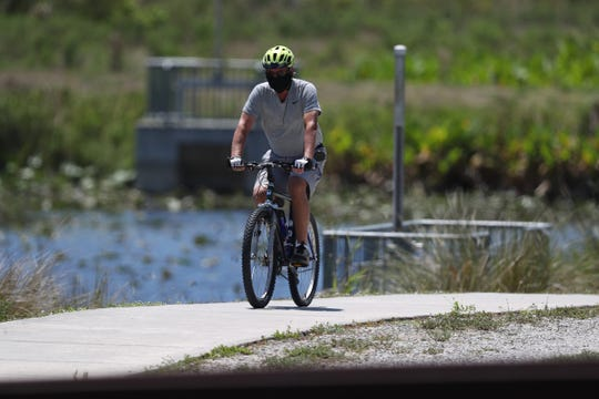 Several public use area uncluding John Yarbrough Linear Trail and Six Mile Cypress Slough along with 20/20 lands and some parks in Fort Myers opened back up Wednesday, April 22, 2020 after being closed due to the COVID-19 pandemic. Beaches and several other parks and playgrounds remain closed.