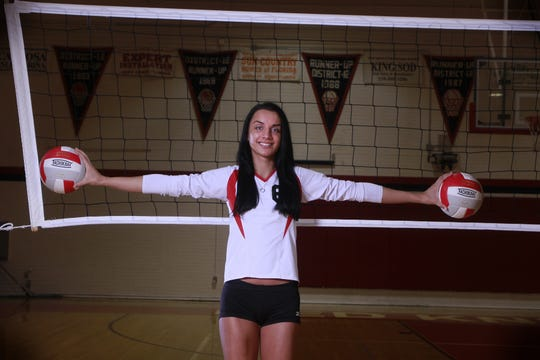 Jessica Wagner of North Fort Myers High School is The News-Press volleyball player of the year. Photographed on Thursday Dec. 15, 2011.