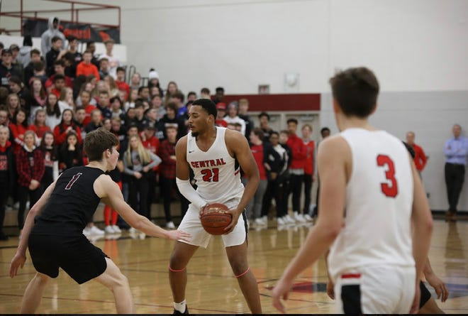 Terrance Thompson averaged 12.8 points and 5.9 rebounds for La Crosse Central this season.