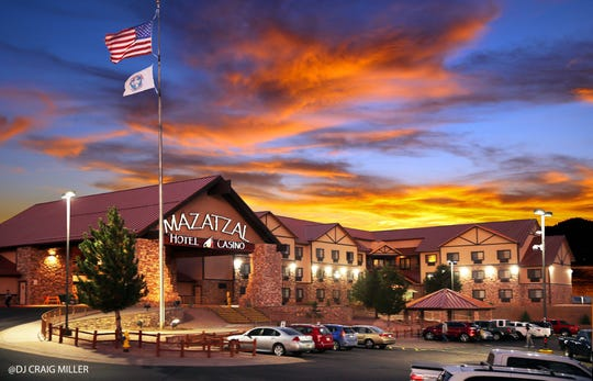The Mazatzal Hotel and Casino is located in Payson, Arizona and run by the Tonto Apache Tribe.  Nathaniel Campbell, a tribal member who helps manage the casino, was furloughed.