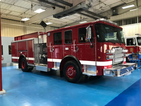Great Falls Fire Rescue used federal Community Development Block Grant funds to purchase this new pumper truck.