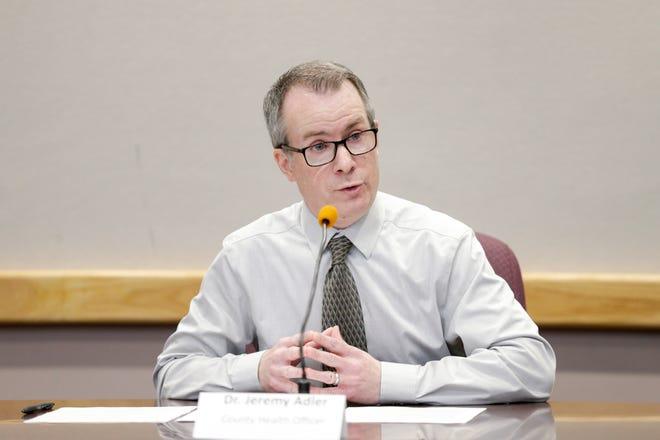 Dr. Jeremy Adler is Tippecanoe County's health officer.