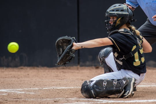 Skye Grant was the catcher for Howell's softball team since her freshman year.