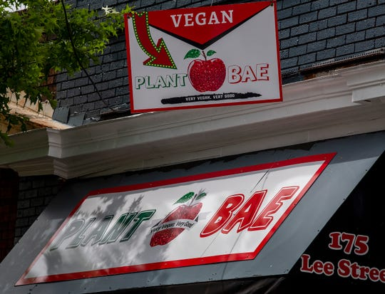 Plant Bae vegan restaurant in Montgomery, Ala., seen on Wednesday April 22, 2020, is planning on opening on May 8.