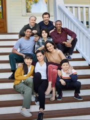 "The cast of NBC's ""Council of Dads"" includes Montgomery native Michael O'Neill, top left."