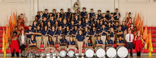 The Pike Road Patriot Marching Band will number more than 100 members when it takes the field this fall under the direction of Patrick Darby.