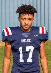 Oakland junior Eddie Willis.