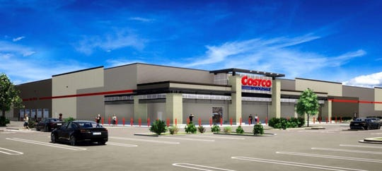 This rendering shows what the proposed Costco store in Murfreesboro will look like.