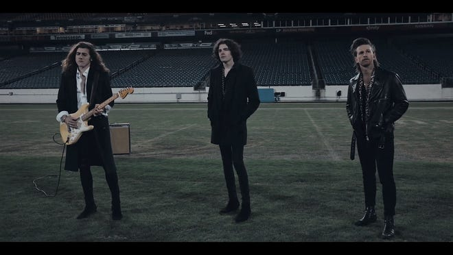 "In January, Nashville rock group the Western Sons shot their music video for ""Sleeping Alone"" at an empty Nissan Stadium."