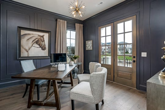 Celebration Homes offers floor plans with spacious home offices.