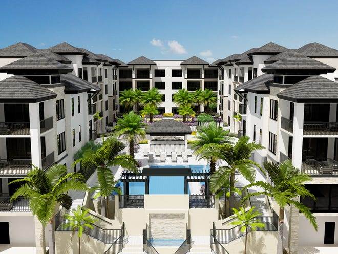 Quattro offers many outdoor amenities and is within walking distance to downtown Naples.