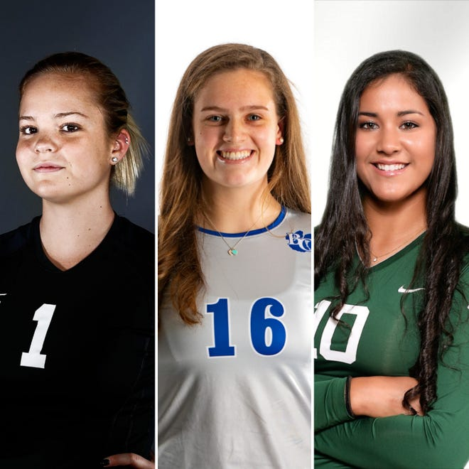 Who was voted Naples Daily News Volleyball Player of the Decade?