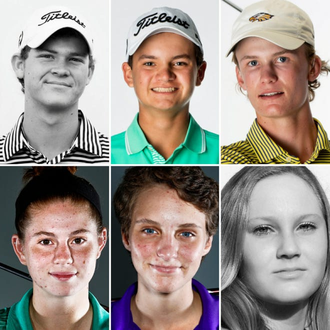 Who got voted the Naples Daily News Boys and Girls Golfers of the Decade?
