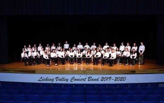 Licking Valley Concert Band. The LV Local School District was recently awarded the Best Communities for Music Education award.