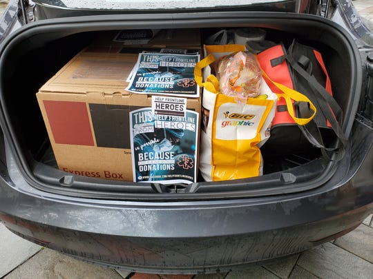 Help Frontline Heroes: Goods awaiting delivery
