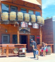Jasper Riddle's store in midtown Ruidoso is a popular stop for wine tasting and purchases.