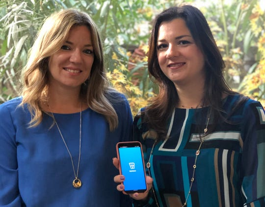 MyNabes was launched in October 2019 by mompreneurs Elodie Bottine, left, and Raluca Perkins.