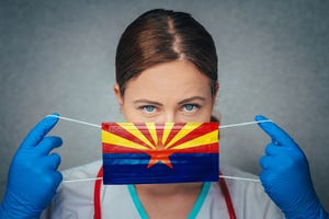 """The Maricopa County mandate requires anyone age 6 and older to wear a face coveringwhile inside a """"place of public accommodation,"""" including grocery stores and other retail shops, hotels, restaurants and bars, gyms and on public transportation."""