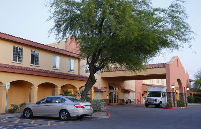 Pennington Gardens Assisted Living in Chandler, where multiple residents have died of COVID-19 complications.