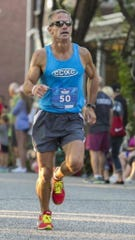 Cedar Crest track and field coach Rob Bare is closing in on 50,000 careers logged in his 35 years as an avid runner.