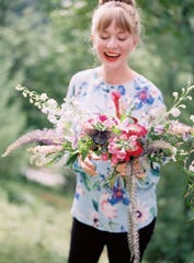 """Kelly Perry, 31, always loved flowers. Now, she's a successful entrepreneur spearheading the organization """"Team Flower,"""" that connects flower enthusiasts across the globe."""