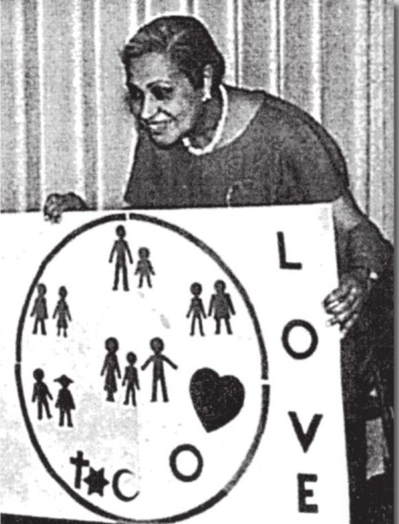 """Gladys Rawlins, 1905-1999, had deep roots in York County. Green Circle, an educational program aimed to help students develop an appreciation of diversity and build esteem is her most-cited legacy. The L.A. Times describes Green Circle: """"The program blends elements of U.N. idealism, consciousness-raising, self-esteem awareness, development of empathy for others and acceptance of ethnic diversity."""" Rawlins came to York County soon after the race riots of 1968-69 to bring some of these concepts home to educators and students."""