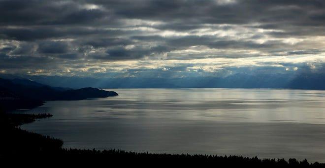 Lake Tahoe is seen on Oct. 24, 2019.