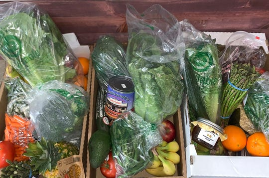 Aspinwalls Produce & Nursey is offering daily home deliveries of assorted produce boxes