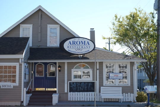 New Mediterranean restaurant Aroma opened in Rehoboth on March 16, the same day Delaware restaurants were ordered to halt dine-in services to slow the spread of the coronavirus. Wednesday, April 22, 2020.