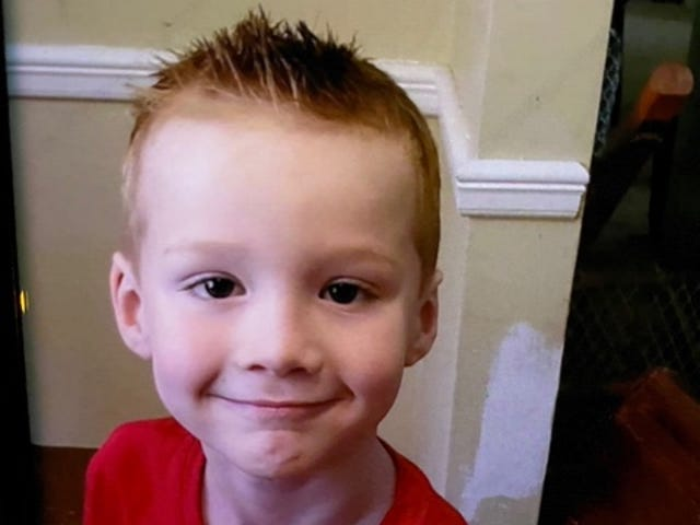 Cameron Allison is believed to be in danger, according to State Police.