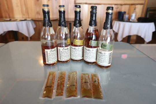 Sage Restaurant is serving cocktails to go including whiskey flights which consist of five samples of Booker's Whiskey.